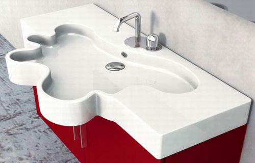 duebi-italia-flower-vanity-red bed-bath