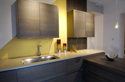 graphite oak kitchen