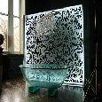 Thumbnail image of Damask Illuminated Bath Screen