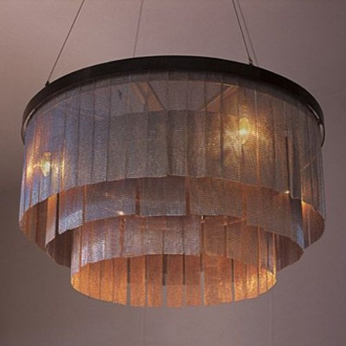 ochre chandelier lighting