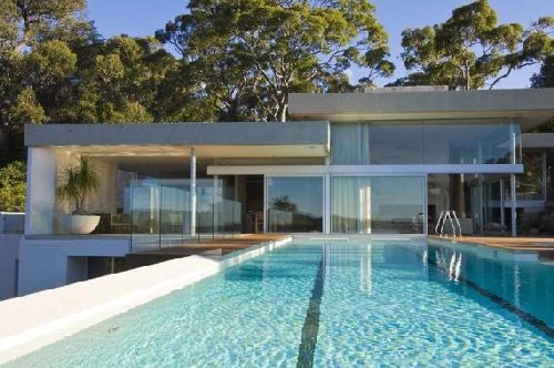 walker house pool architecture, modern design, modern architecture