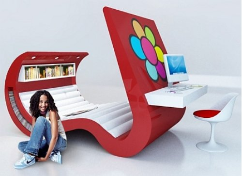 wave chaise lounger tech gadgets