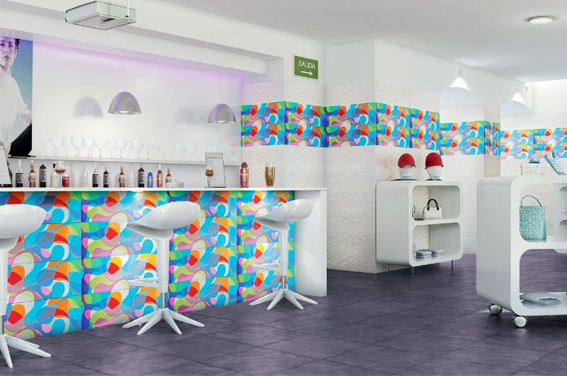 bright art home decor
