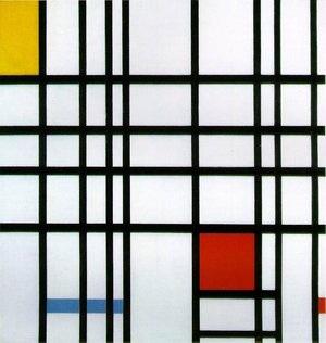 Mondrian's famous painting