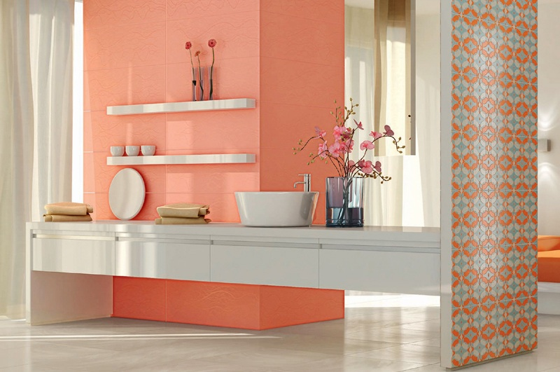 peachy art home decor