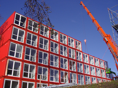 tempohousing amsterdam green