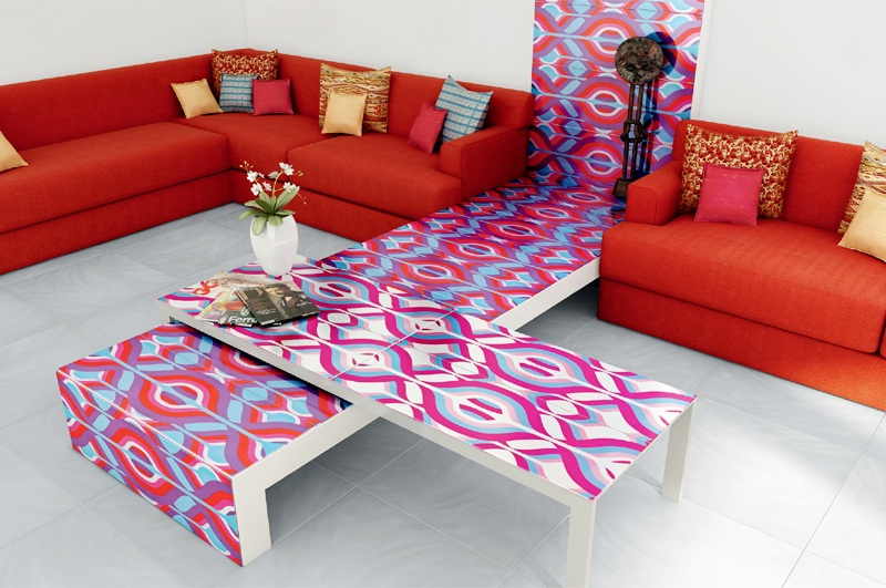 tiling art home decor