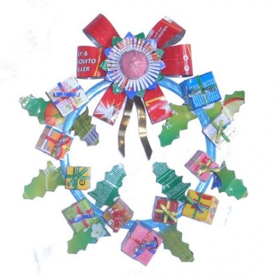 biomelifestyle recycledwreath1 how to tips advice