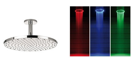 Thumbnail image of Crosswater's Light Up Shower