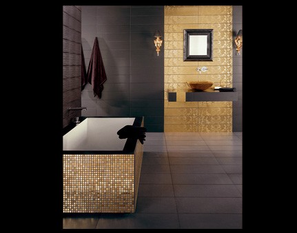 gold tile dune 3 interiors