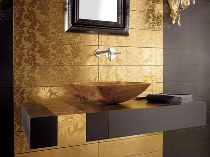 Thumbnail image of Gold Tiles from Dune – Damasco collection