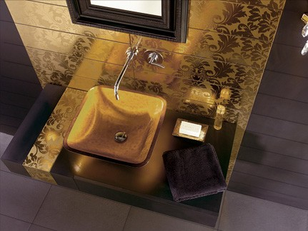 gold-tile-dune interiors
