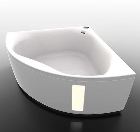 gruppo treesse hydromassage tub corner slide bed bath