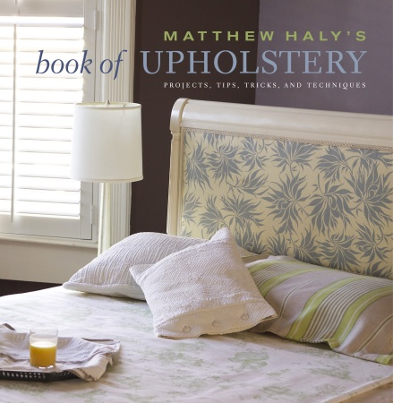 matthew halys book of upholstery news events