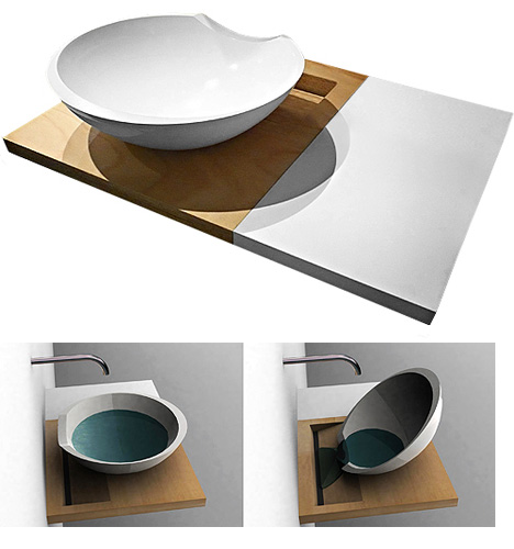 modern sink bed bath