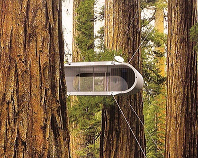treehouse lifepod architecture