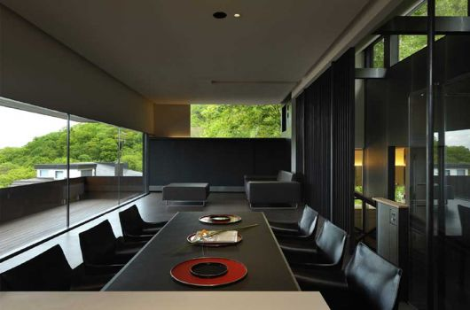 boukyo house dining room architecture