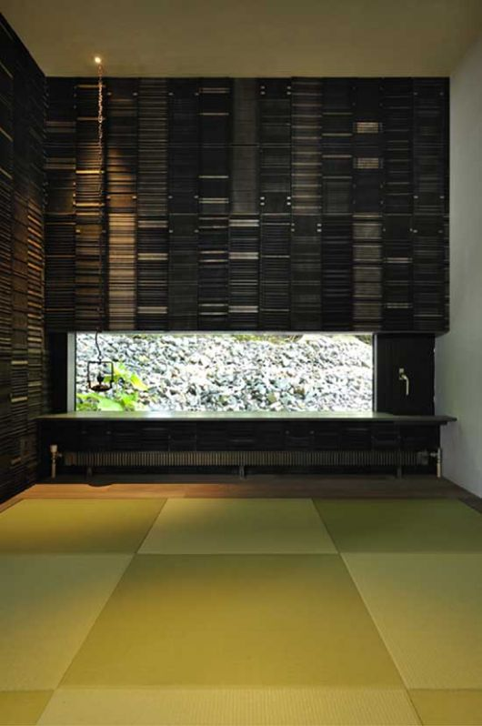 boukyo house interior architecture