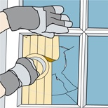 Thumbnail image of DIY: How To Fix A Broken Window