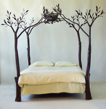 Thumbnail image of Shawn Lovell&#8217;s Beautiful Tree Bed