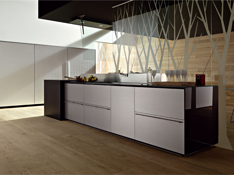 valcucine artematica multiline titanium kitchen kitchen