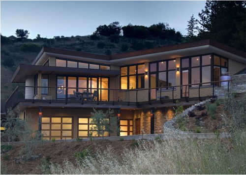 Thumbnail image of California Earthsheltered Home Nestles Into Marin Hillside