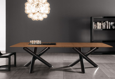Thumbnail image of Van Dyck Table: Contemporary design with classy finish
