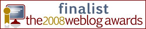 weblog finalist news events