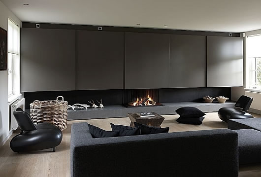 metalfire universal fireplace 2 interiors
