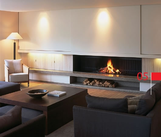 metalfire universal fireplace 5 interiors