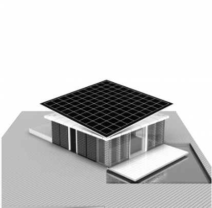 Thumbnail image of Spanish All Solar House Churns Out Electricity