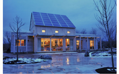 Thumbnail image of Zero Energy Prefab Homebuilder Takes LEED