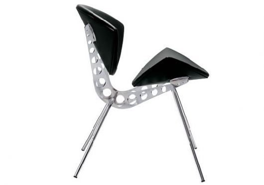 Thumbnail image of The Insect Chair: Opening up its leather wings