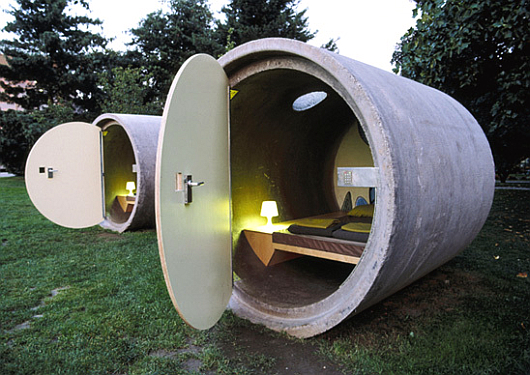 Thumbnail image of Das Parkhotel – hotel rooms in a park. Literally.