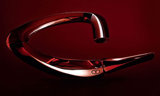 Thumbnail image of Triflow Faucet by Zaha Hadid: Sleek, stylish and sexy all the way