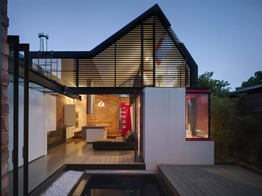 Thumbnail image of Vader House: Mixing unconventional design with a splash of bold shades