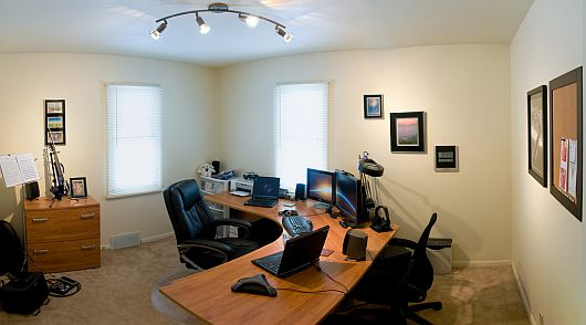 dwelling on work: how to decorate your home office space | home