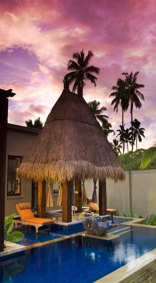 maia luxurious resort in the seychelles 6 gardening outdoor