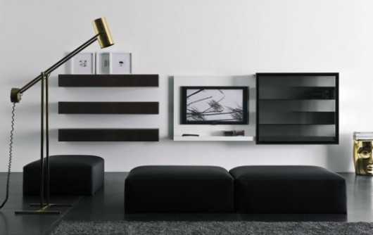 modern lacquered tv cabinet spazio box vision11 furniture 2