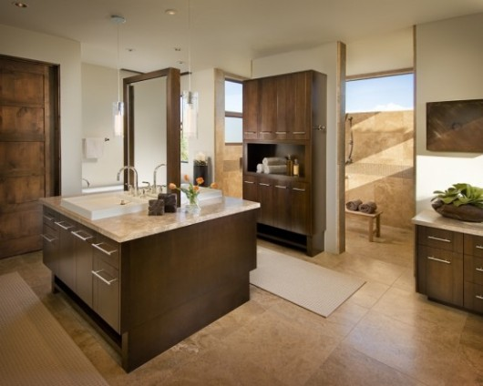 modern spanish house master bath interiors