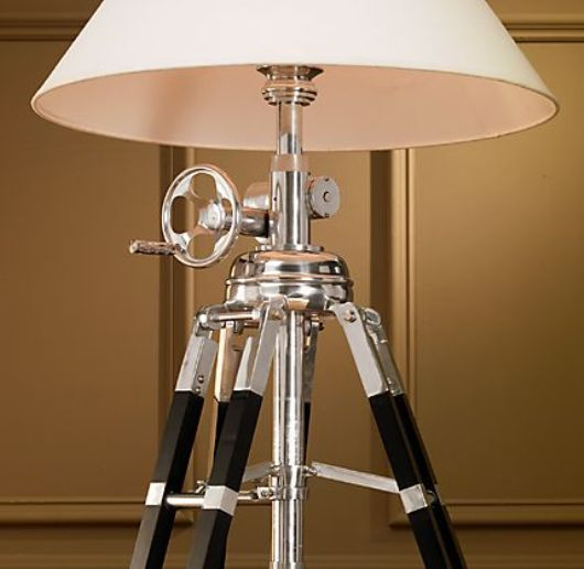 Thumbnail image of Royal Marine Tripod &#8211; vintage nautical elegance