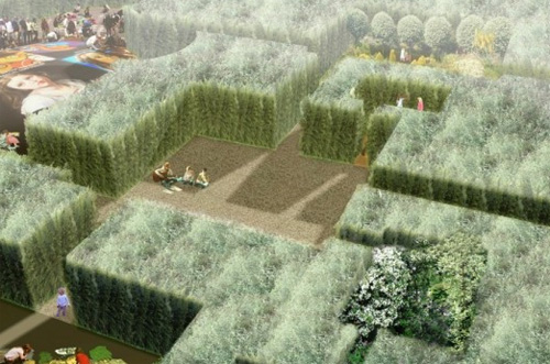 Thumbnail image of VisionDivision Creates Bamboo Palace from Asphalt Hell