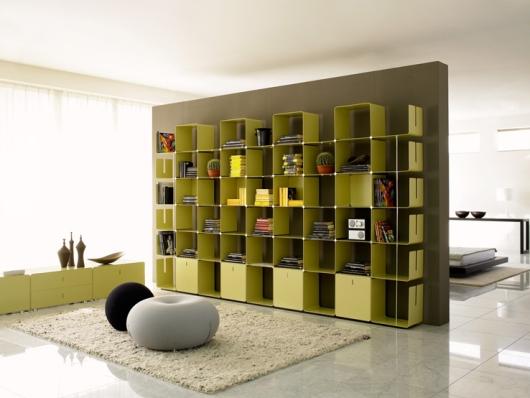 Designer Bookcases cwave: modular bookcasegianmarco blini | home design find