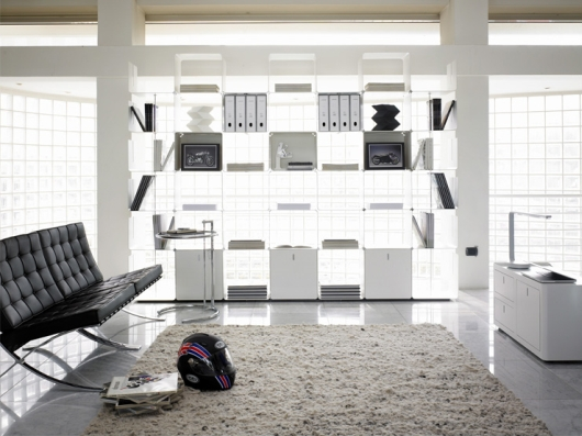 Thumbnail image of cWave: Modular Bookcase by Gianmarco Blini