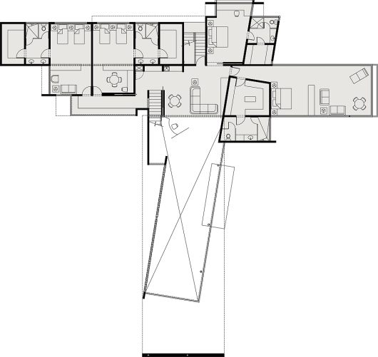 house in el uro, ultra modern house plans
