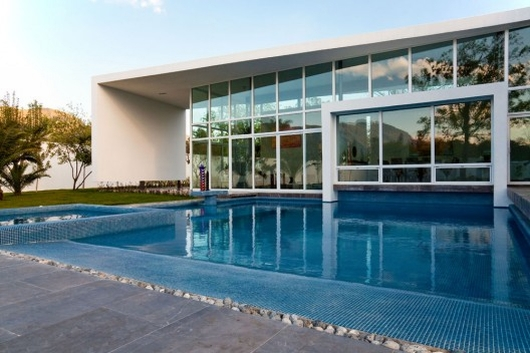 house in el uro 3, modern interior design , modern architecture, modern design pool