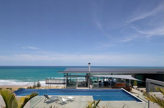 t-house 3.modern architecture beach house pool