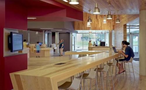 Ann Arbor Library4 architecture