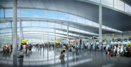 Foster+Partners Heathrow Solar architecture