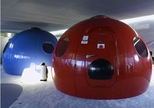 Thumbnail image of Prefab Igloo Survives Sub Zero Temperatures